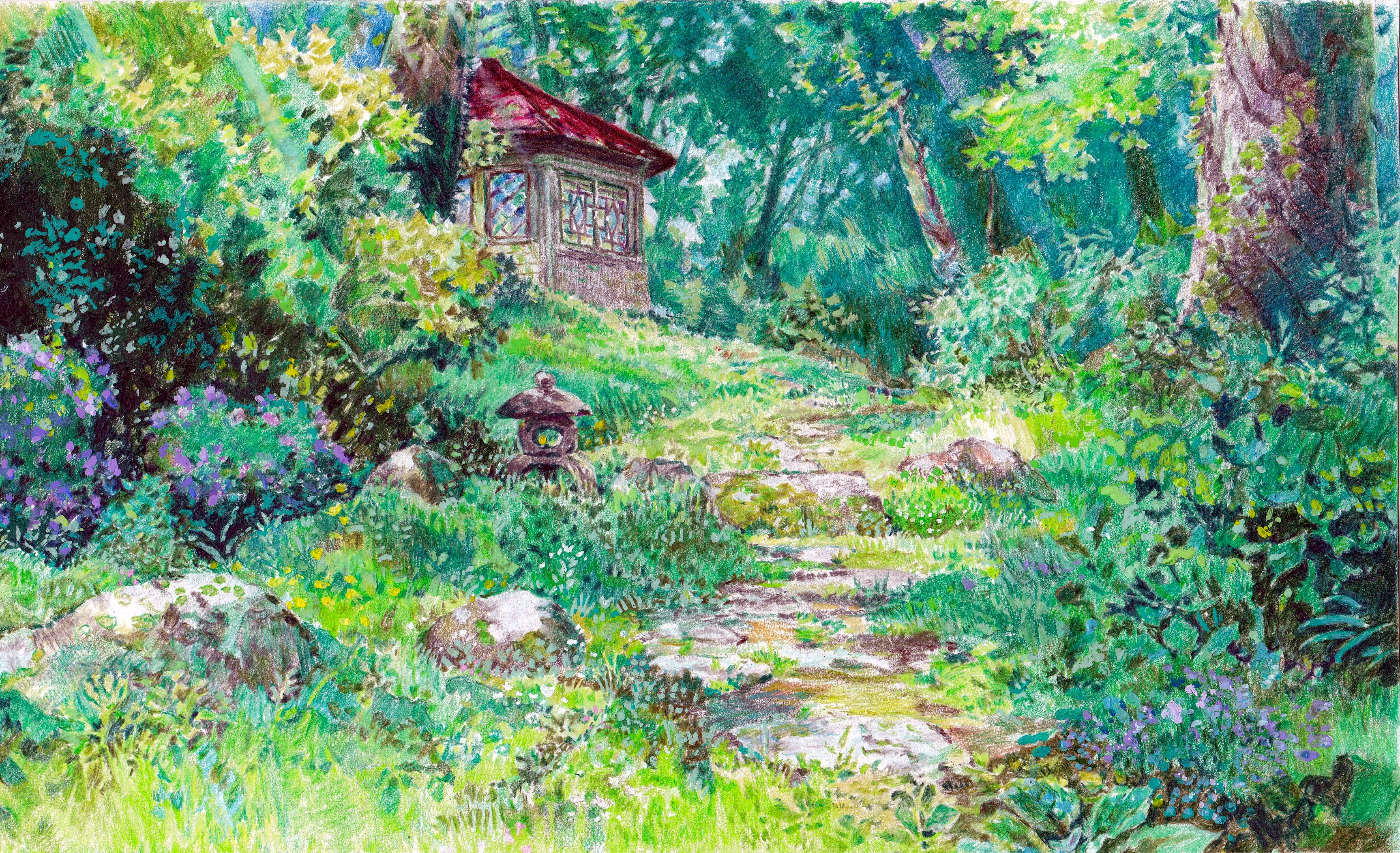 Kazuo Oga master study by KingVahagn