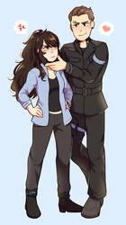 Sibella and Eric [C] by dekyun