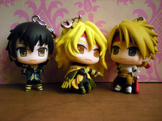 Dhaos, Cless and Jude