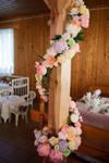 Rustic Wedding Paper Flower Decor by TheBohoCraftsShoppe