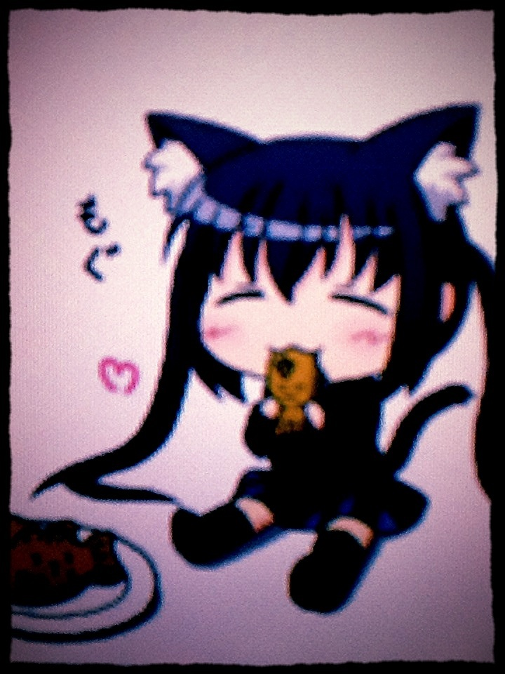 Cute Chibi Kitty Cute Chibi Kitty Girl by
