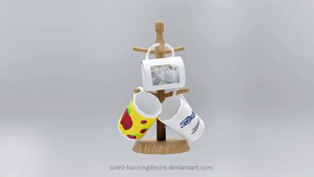 Low Poly Mugs
