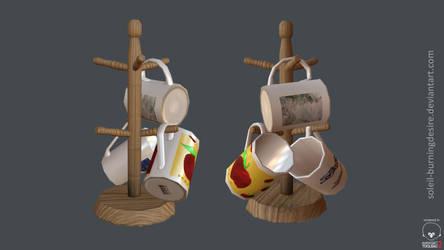 Low Poly Mugs _Toolbag