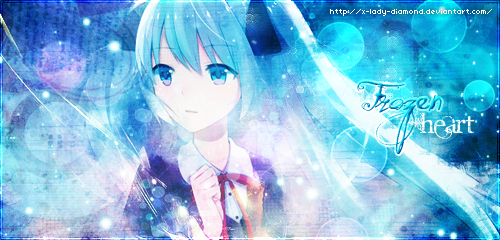 Frozen Heart by x-Lady-Diamond