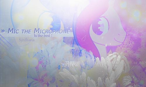 Mic The Microphone by x-Lady-Diamond