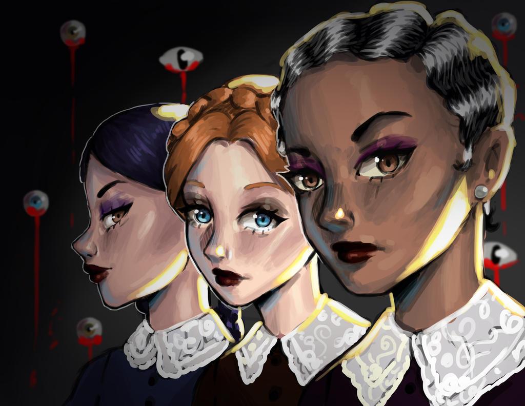 Weird Sisters Fanart 5