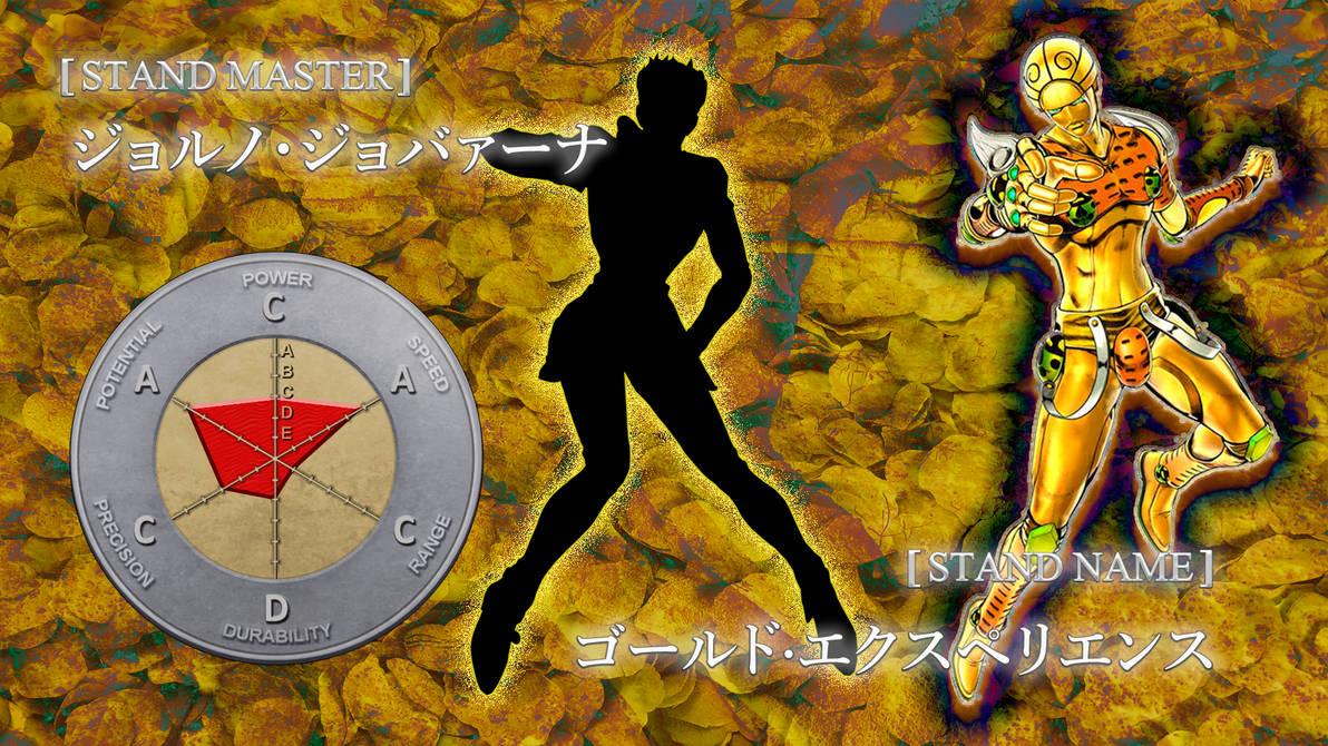 Stand JJBA: Gold Experience (Giorno Giovanna) by Raul
