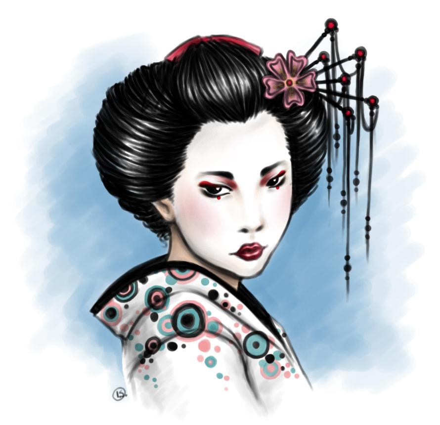 Geisha By N M Rotten On Deviantart