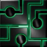 Cyan Cyber Cube
