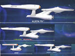 Star Trek Constitution class comparison blu-ray by Earth-742