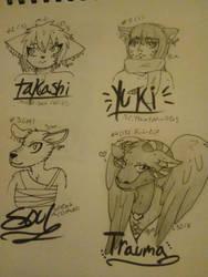 Freebie sketch batch 4