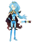 Pokegirl New Outfit Gym Leader Clair