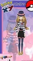 Pokegirl New Outfit Serena v.2