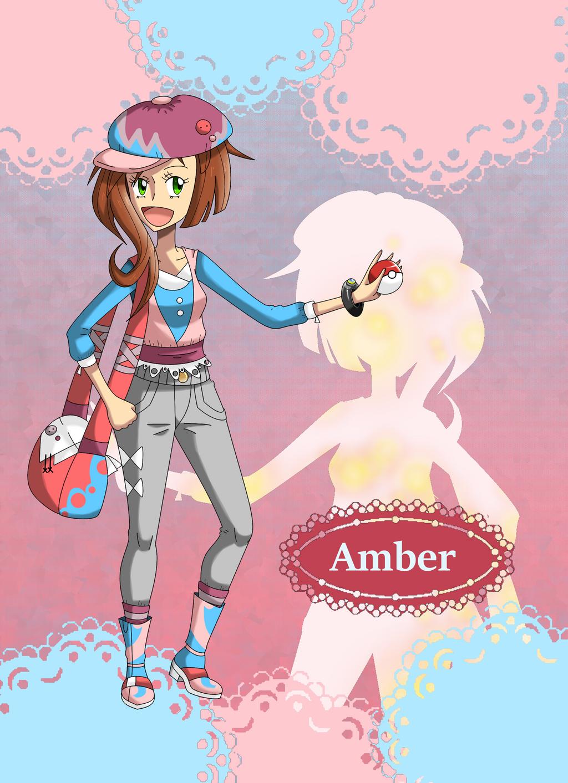 Request: Pokegirl Alt Outfit Amber