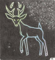 Deer in the Lights