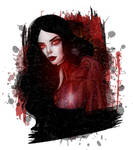 Vampire portrait by 8LouLou8