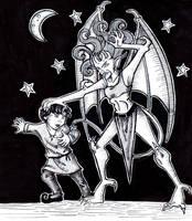 Danse Macabre Demona by CinsAngel