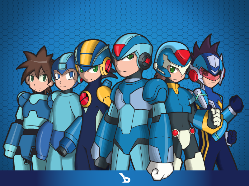 Megaman Team - X by bayubaruna