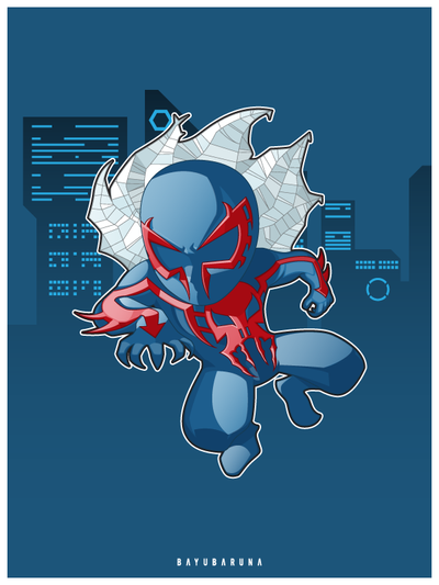 Spider man 2099 by bayubaruna
