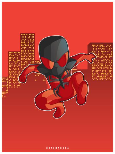 Scarlet Spider by bayubaruna
