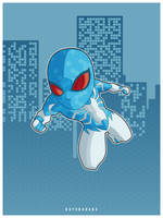 Digital Spider Man by bayubaruna