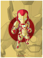 Iron Man Mark 42 by bayubaruna