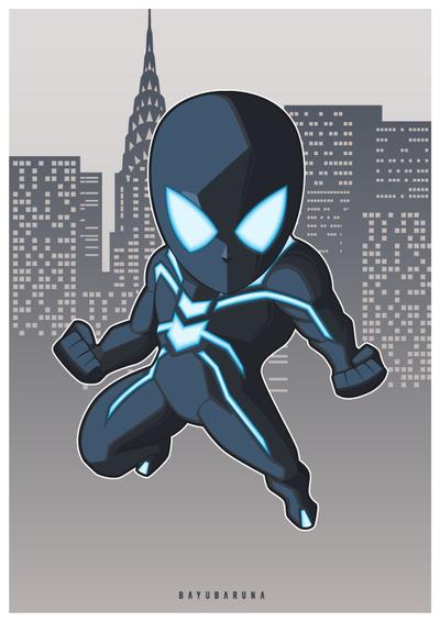 Stealth Suit Spider Man by bayubaruna