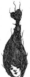 Hair Sketch by worstcaseEX