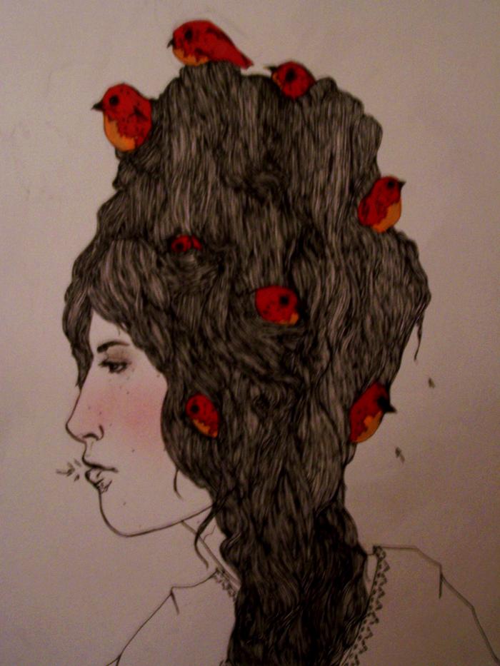 Red Robin Blush by worstcaseEX