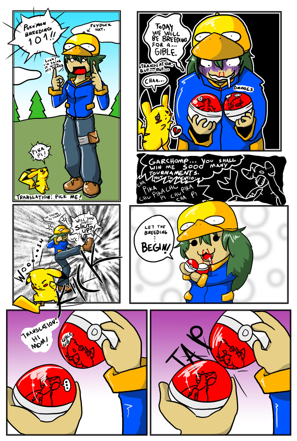 Pokemon Breeding by blayzeon on DeviantArt