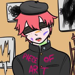 Piece Of Art [flat] by newsie-fics
