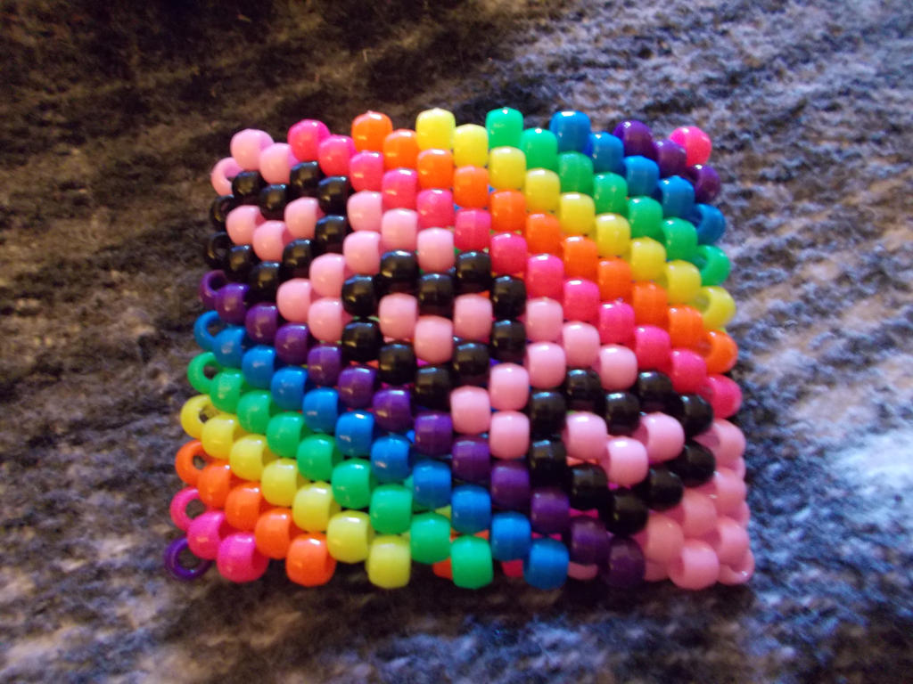 rainbow music cuff by DINOCATCREATIONS