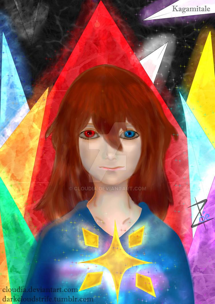 Frisk Kagamitale Portrait by Cloudia