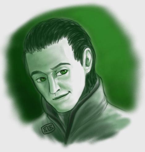 Loki Portrait by DesertShyamalan