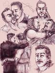 Sketchpage commission: Blisk/Fuse