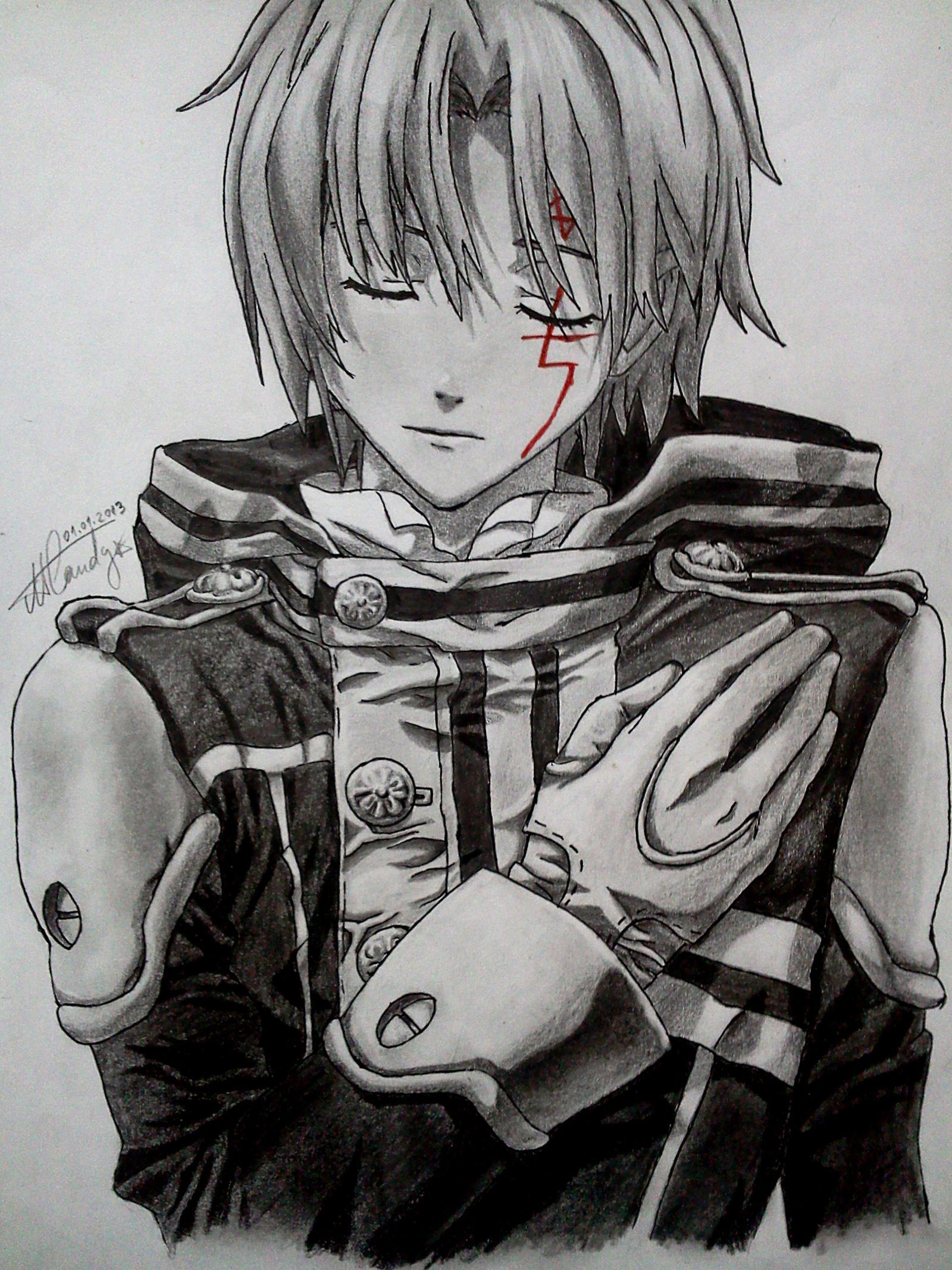 Allen Walker - D.Gray-Man by NemoraliaEgnever