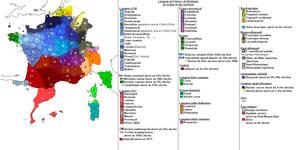 Langues de France - Languages of France