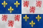 Drapeaux regionaux : Picardie