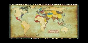 HWS Medieval Revisited - Faction Map parchment bis