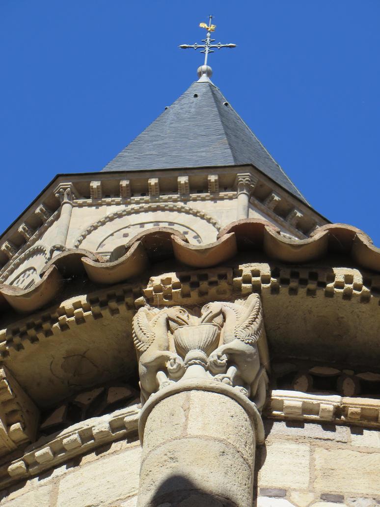 Basilique notre dame du port iii clermont by scipia on deviantart - Basilique notre dame du port ...