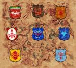 Zelda BotW : Coats of Arms