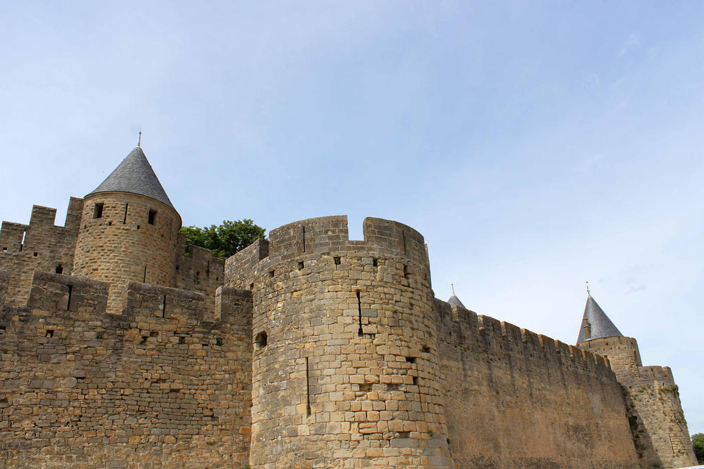Carcassonne IV - Les remparts by Scipia