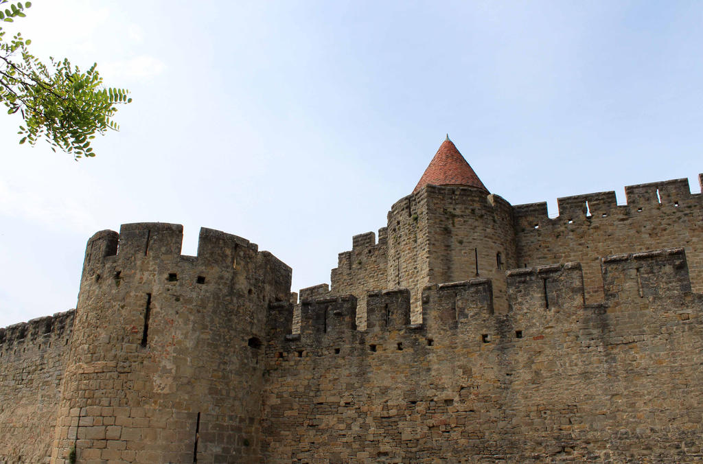 Carcassonne V - Les remparts by Scipia