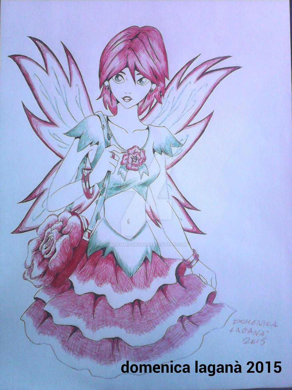 Modern Flower Fairy by BabyMessina89