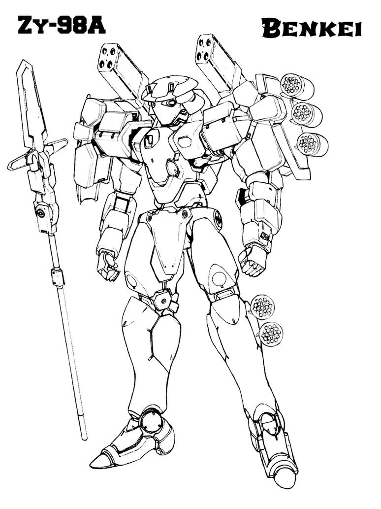 Zy-98A Benkei by everyfaces
