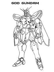 Shadow God Gundam by everyfaces