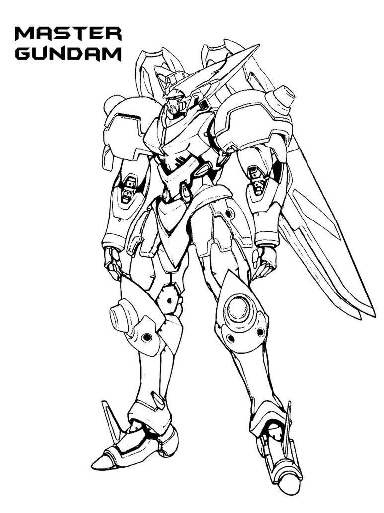 Erigor Master Gundam by everyfaces