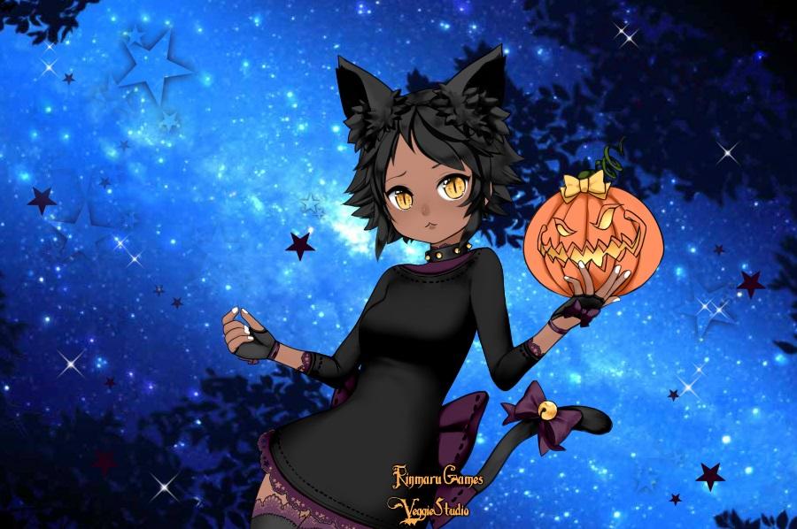anime halloween girl - photo #21