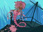 Mermaid OC: Dalia