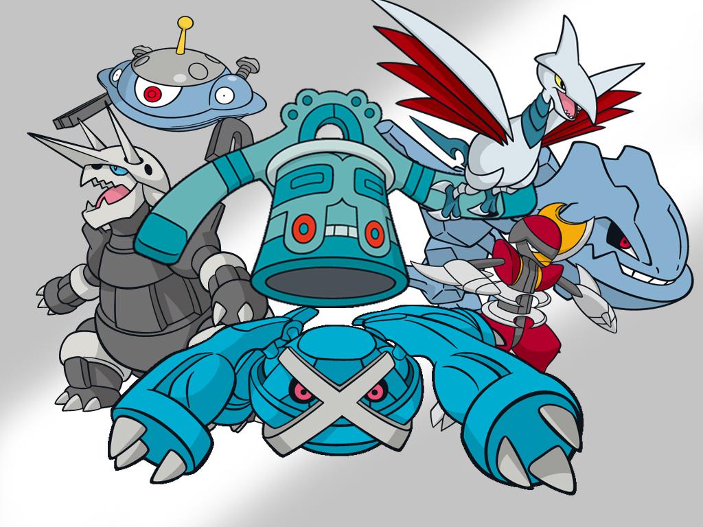 Steel Type Pokemon